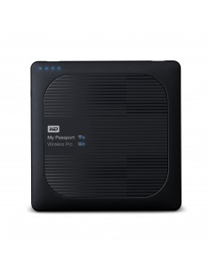 Western Digital My Passport Wireless Pro external hard drive Wi-Fi 2000 GB Black Western Digital WDBP2P0020BBK-EESN - 1