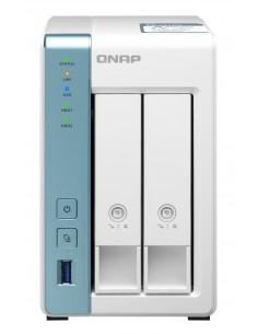 QNAP TS-231P3 NAS Tower Ethernet LAN White AL314 Qnap TS-231P3-4G - 1