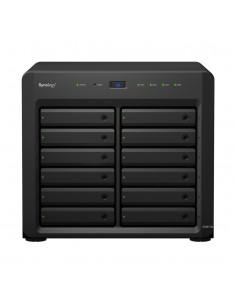 Synology DiskStation DS3617xs NAS Skrivbord Nätverksansluten (Ethernet) Svart D-1527 Synology DS3617XS - 1
