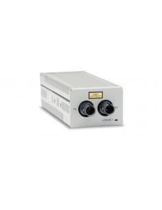 Allied Telesis AT-DMC100/ST-30 mediakonverterare för nätverk Intern 100 Mbit/s 1310 nm Flerläge Grå Allied Telesis AT-DMC100/ST-