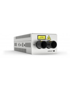 Allied Telesis AT-DMC1000/ST-00 mediakonverterare för nätverk 1000 Mbit/s 850 nm Flerläge Grå Allied Telesis AT-DMC1000/ST-00 -