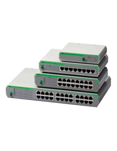 Allied Telesis AT-FS710/8-50 Ohanterad Fast Ethernet (10/100) Grå Allied Telesis AT-FS710/8-50 - 1