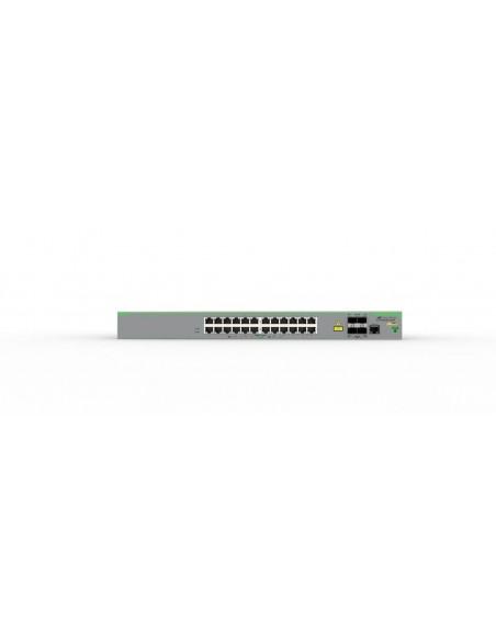Allied Telesis AT-FS980M/28DP-50 Hallittu L3 Fast Ethernet (10/100) Power over -tuki Harmaa Allied Telesis AT-FS980M/28DP-50 - 3