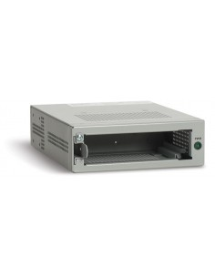 Allied Telesis Single slot chassis f/ unmanaged, standalone Media/Bridging Media Converter nätverksutrustningschassin Allied Tel