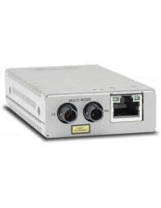 Allied Telesis AT-MMC200/ST-960 mediakonverterare för nätverk 100 Mbit/s 1310 nm Flerläge Grå Allied Telesis AT-MMC200/ST-960 -