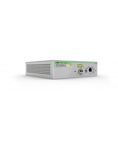 Allied Telesis AT-PC2000/LC-60 mediakonverterare för nätverk 1000 Mbit/s 850 nm Grå Allied Telesis AT-PC2000/LC-60 - 1
