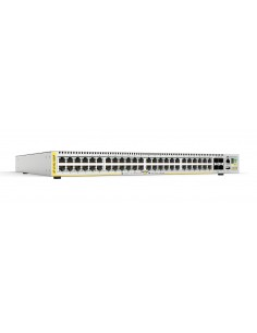 Allied Telesis AT-X510L-52GP-30 verkkokytkin Hallittu L3 Gigabit Ethernet (10/100/1000) Power over -tuki Harmaa Allied Telesis A