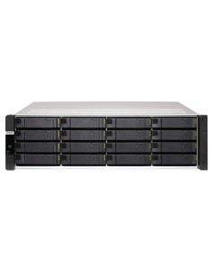 QNAP ES1686dc NAS Rack (3U) Nätverksansluten (Ethernet) Svart, Grå D-2145NT Qnap ES1686DC-2145NT-96G - 1