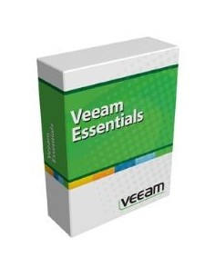 Veeam Backup Essentials Standard for Hyper-V Englanti Veeam E-ESSSTD-HS-P0000-00 - 1