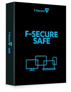F-SECURE SAFE Täysi lisenssi 1 vuosi/vuosia Monikielinen F-secure FCFXBR1N007E1 - 1