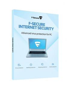 F-SECURE Internet Security Full license 1 year(s) Multilingual F-secure FCIPBR1N001E2 - 1
