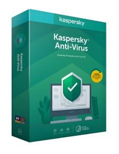 Kaspersky Lab Anti-Virus 2020 Base license 1 license(s) Kaspersky KL1171G5AFR-20FFP - 1
