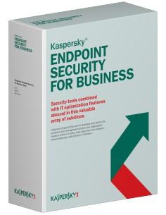 Kaspersky Lab Endpoint Security f/Business - Select, 15-19u, 3Y, Base RNW license 3 year(s) Kaspersky KL4863XAMTR - 1