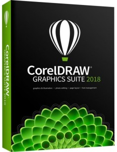 Corel CorelDRAW Graphics Suite 2018 1 license(s) Renewal Corel LCCDGSENTMLMNT21 - 1