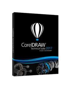 Corel CorelDRAW Technical Suite 2017 51-250U Monikielinen Corel LCCDTS2017ML3 - 1