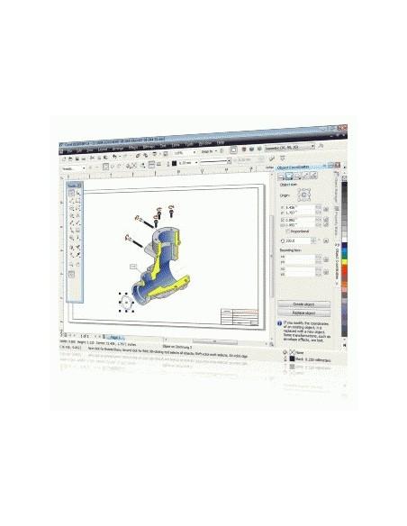 Corel Designer Technical Suite X4, 26-60u, Multi Corel LCCDTSX4MLPCC - 2