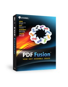 Corel PDF Fusion, 11-25u, MLNG Corel LCCPDFF1MLB - 1