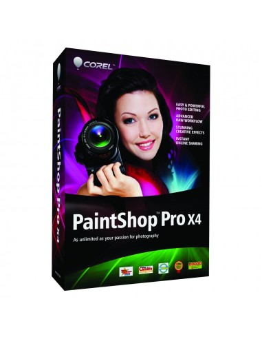 Corel PaintShop Pro X4, 2Y, 11-25u, ML Monikielinen Corel LCPSPMLMNT2B - 1