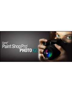 Corel Paint Shop Pro Photo X2, 121-250u Monikielinen Corel LCPSPPX2MLPCE - 1