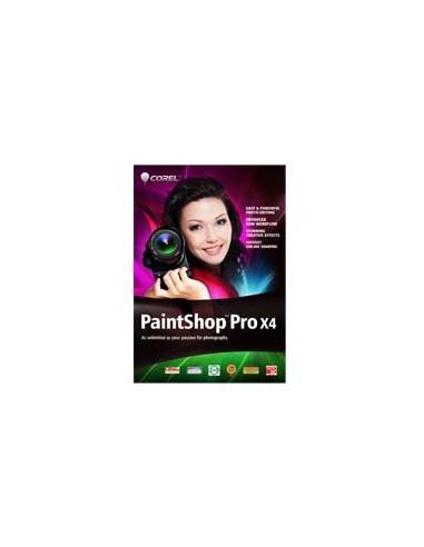 Corel PaintShop Pro X4, 121-250u, WIN, MLNG Corel LCPSPX4MLE - 1