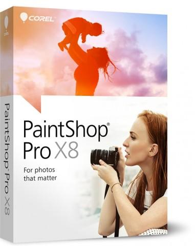 Corel PaintShop Pro X8, CORP, UPG, 501-2500U Päivitys Monikielinen Corel LCPSPX8MLUG5 - 1