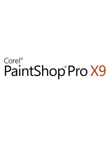 Corel PaintShop Pro X9 Education Edition License (1-4) Saksa, Hollanti, Englanti, Espanja, Ranska, Italia Corel LCPSPX9MLA1 - 1