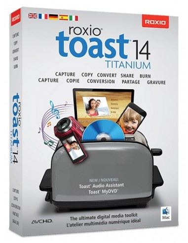 Corel Toast 14 Titanium, ML, 51-250U, Mac Monikielinen Corel LCT14TML2 - 1