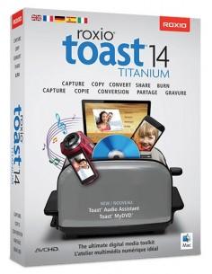 Corel Toast 14 Titanium, EDU, ML, 2501+U, Mac Monikielinen Corel LCT14TMLA5 - 1
