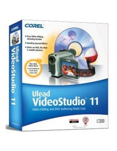 Corel VideoStudio 11. CTL, Education, EN, 61 - 300 users Englanti Corel LCVS11IEAB - 1