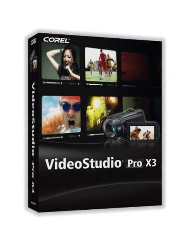 Corel VideoStudio Pro X3, 61-120u, Corp, Multi, UPG Monikielinen Corel LCVSPRX3MLUGD - 1