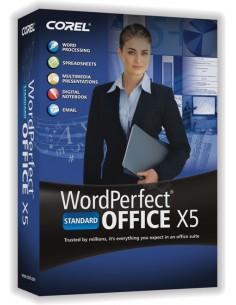 Corel WordPerfect Office X5 Standard, 501-1000u, ML Corel LCWPX5MLH - 1