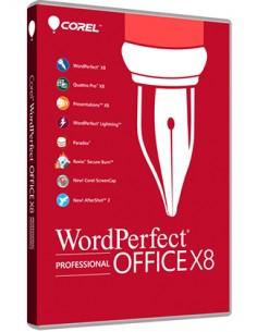 Corel WordPerfect Office X8 Professional 1 license(s) Multilingual Corel LCWPX8PROMLUG1 - 1