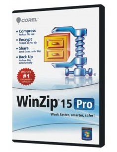Corel WinZip 15 Pro, 200-499U, EN Corel LCWZ15PROENF - 1