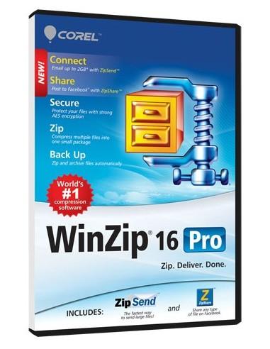 Corel WinZip 16 Pro, Win, 100000+u, UPG, ML Corel LCWZ16PROMLUGN - 1