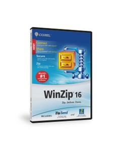 Corel WinZip 16 Standard, Win, 50000-99999u, EDU, ENG Corel LCWZ16STDMLAM - 1