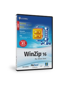 Corel WinZip 16 Standard, 10000-24999u, UPG Corel LCWZ16STDMLUGK - 1