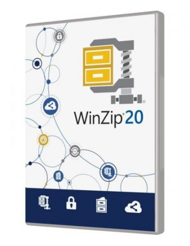 Corel WinZip 20 Standart Corel LCWZ20STDMLAJ - 1