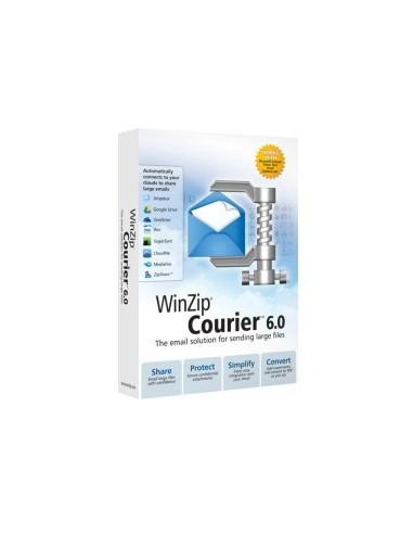 Corel WinZip Courier 6. Lic ML 100-199 Corel LCWZCO6MLE - 1