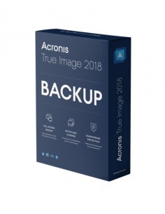 Acronis True Image 2018 3 license(s) Electronic Software Download (ESD) Acronis Germany Gmbh THJASGLOS - 1