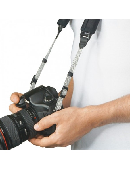 Pacsafe Carrysafe 75 hihna Digitaalikamera Eteeni-vinyyliasetatti (EVA) vaahtomuovi, Elastaani, Nailon Musta, Harmaa Pacsafe 152