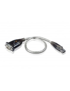 Aten UC232A cable gender changer USB RS-232 Silver Aten UC232A-AT - 1