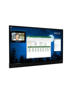 "Avocor F7550 190.5 cm (75"") LED 4K Ultra HD Touchscreen Interactive flat panel Black Avocor F-7550 - 1"