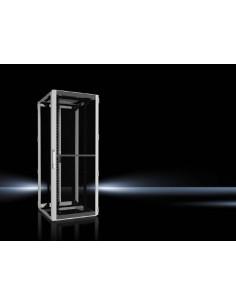 Rittal 5507.181 rack cabinet 42U Freestanding Black, Grey Rittal 5507181 - 1