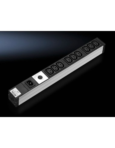 Rittal DK 7240.201 power extension 9 AC outlet(s) Indoor Rittal 7240201 - 1