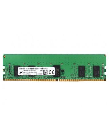 Micron MTA9ASF1G72PZ-2G6J1 muistimoduuli 8 GB 1 x DDR4 2666 MHz ECC Crucial Technology MTA9ASF1G72PZ-2G6J1 - 1