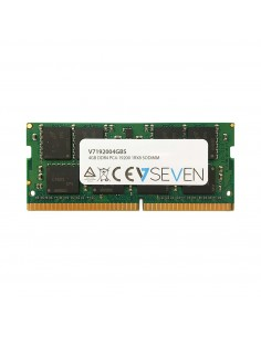 V7 4GB DDR4 PC4-19200 - 2400MHz SO-DIMM Notebook Memory Module V7192004GBS V7 Ingram Micro V7192004GBS - 1
