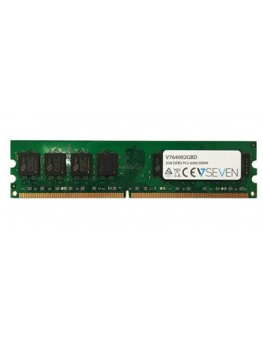 V7 V764002GBD muistimoduuli 2 GB 1 x DDR2 800 MHz V7 Ingram Micro V764002GBD - 1