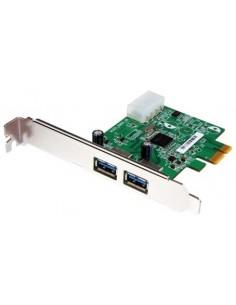 Transcend 2-Port USB 3.0 PCI-E Card liitäntäkortti/-sovitin Transcend TS-PDU3 - 1
