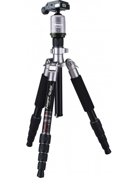 Rollei Compact Traveler No. 1 tripod Digital/film cameras 3 leg(s) Black Rollei 20933 - 1