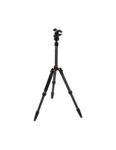 Rollei Compact Traveler No. 1 Carbon kolmijalka Digitaalinen ja elokuva-kamerat 3 jalkoja Musta Rollei 22578 - 1